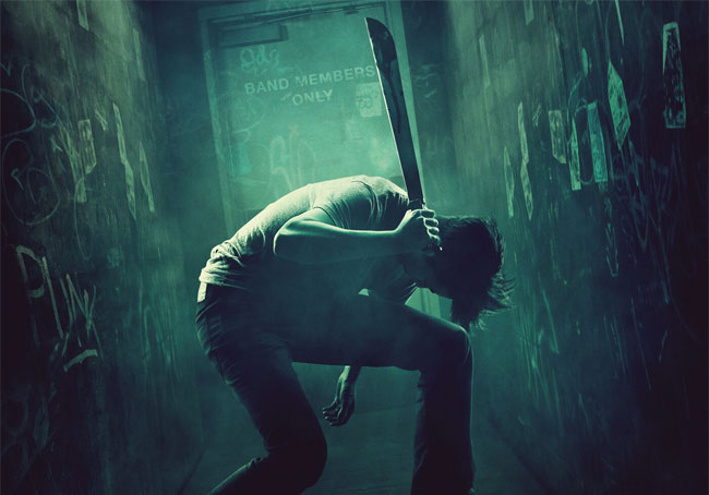 Una foto dal film thriller horror del 2016 The Green Room