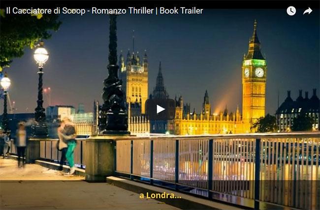 Il booktrailer del romanzo thriller Il Cacciatore di Scoop