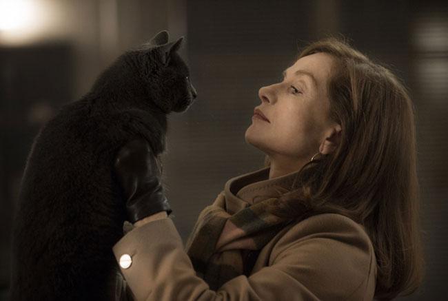 Un fotogramma dal film Elle
