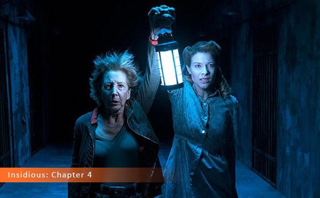 Un fotogramma dal film horror 2017 intitolato Insidious: Chapter 4