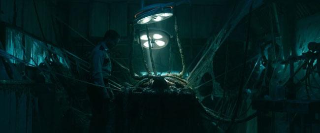 Un fotogramma dal film The Void: Il Vuoto