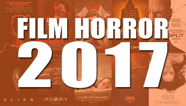 La copertina per l'articolo speciale sui migliori e più attesi film horror del 2017