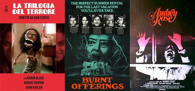 I poster di Trilogia del Terrore, Ballata Macabra, Audrey Rose