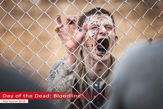 Un fotogramma dal film Day of the Dead: Bloodline