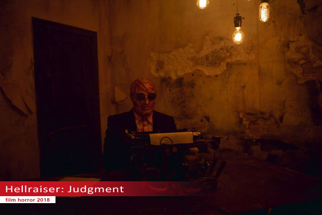 Un fotogramma dal film Hellraiser: Judgment