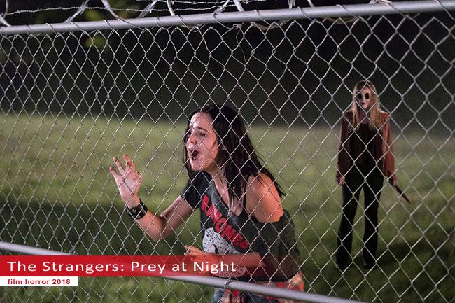 Un fotogramma dal film Strangers: Prey at Night