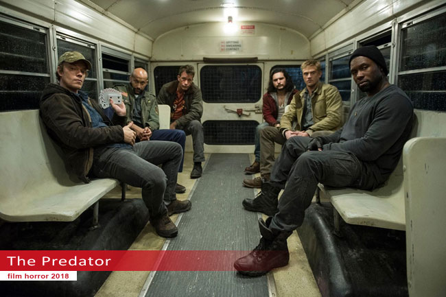 Un fotogramma dal film The Predator