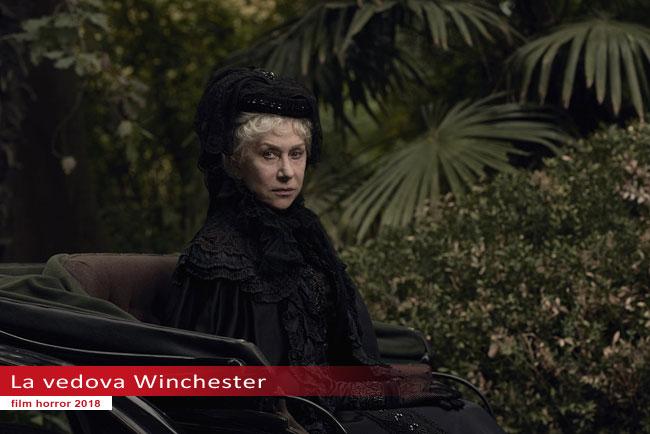Un fotogramma dal film La Vedova Winchester