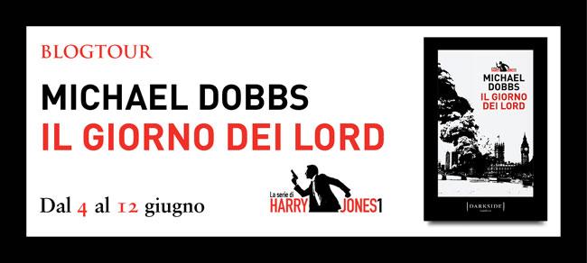 Il banner promozionale per il romanzo Il Giorno dei Lord