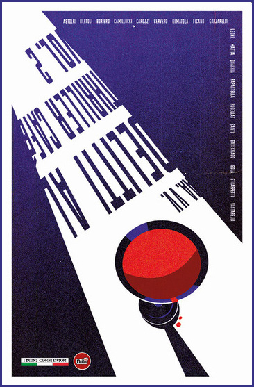 La copertina della raccolta Delitti al Thriller Café Volume 2