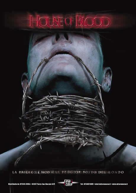 House of Blood : una locandina del film (codice: 1177)