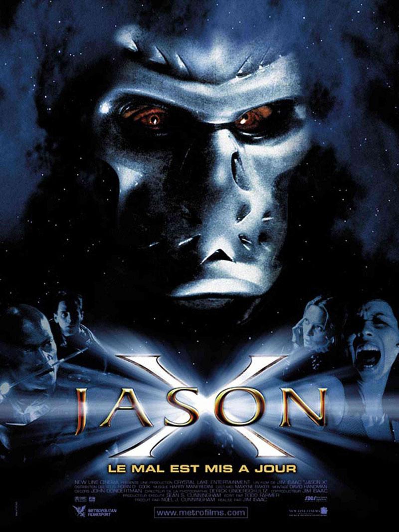 Jason x morte violenta una locandina del film codice 2021