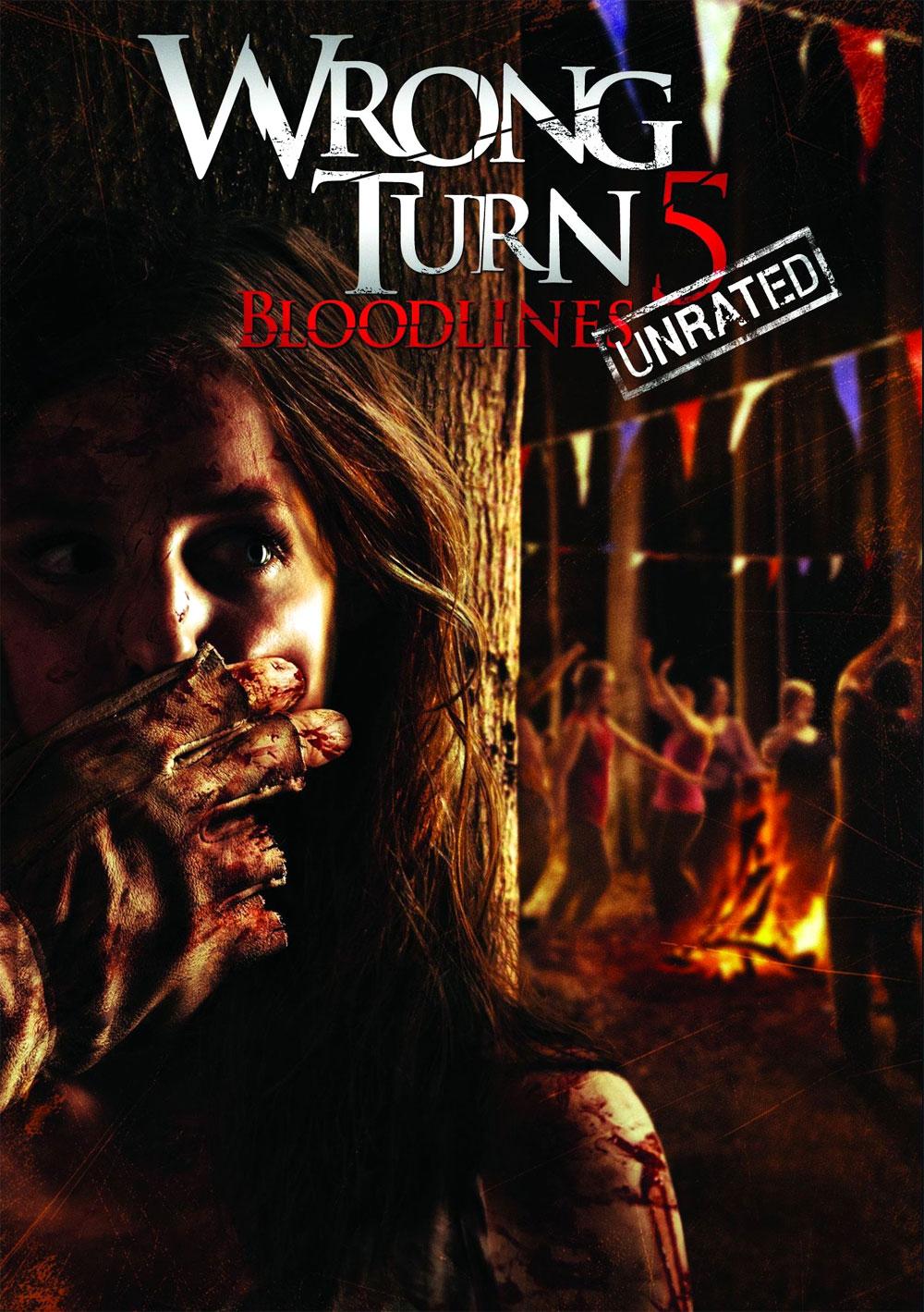 Wrong turn 5 bagno di sangue locandina del film codice 2386 - Bagno di sangue ...