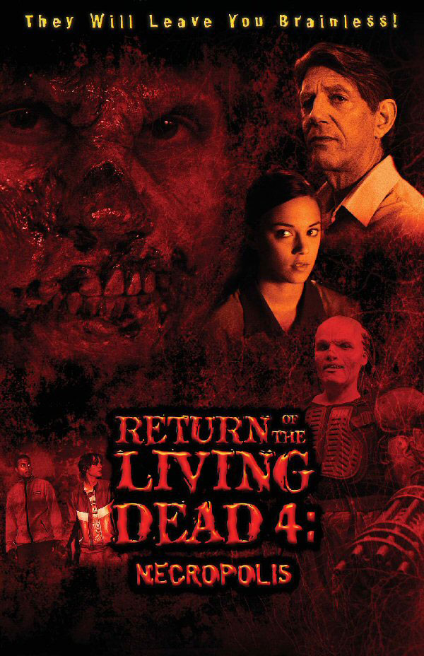 Locandina del film Return of the Living Dead 4: Necropolis