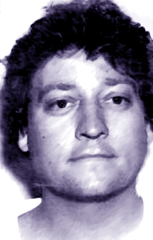 Una foto artistica di Charlie Brandt, serial killer
