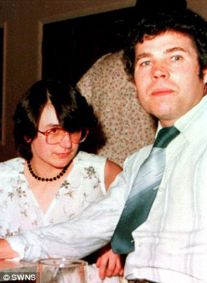 Rosemary e Fred West in una foto di tempi felici