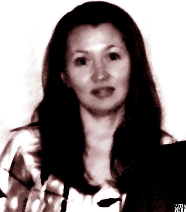 Un'immagine artistica della serial killer russa Irina Gaidamachuk