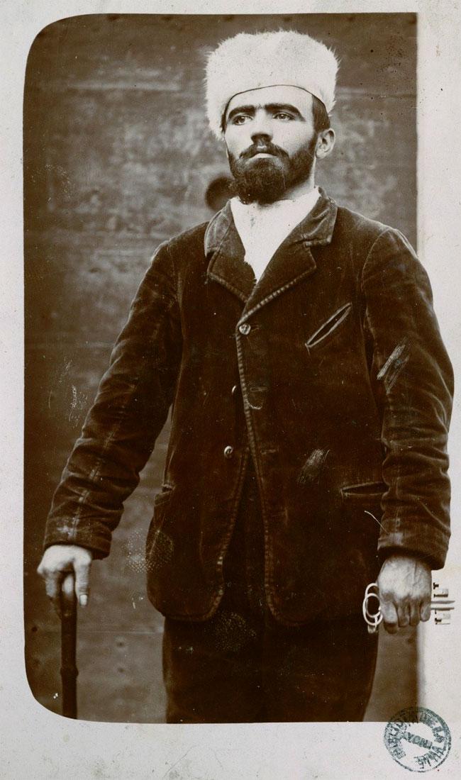 Joseph Vacher in una foto della prigione