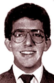 Una foto di Luís Alfredo Garavito da giovane