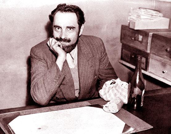 Marcel Petiot nel suo studio di medico