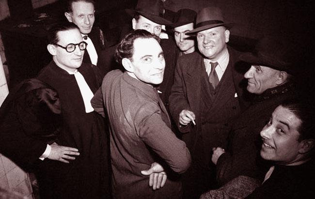 Il serial killer Macrel Petiot al suo processo