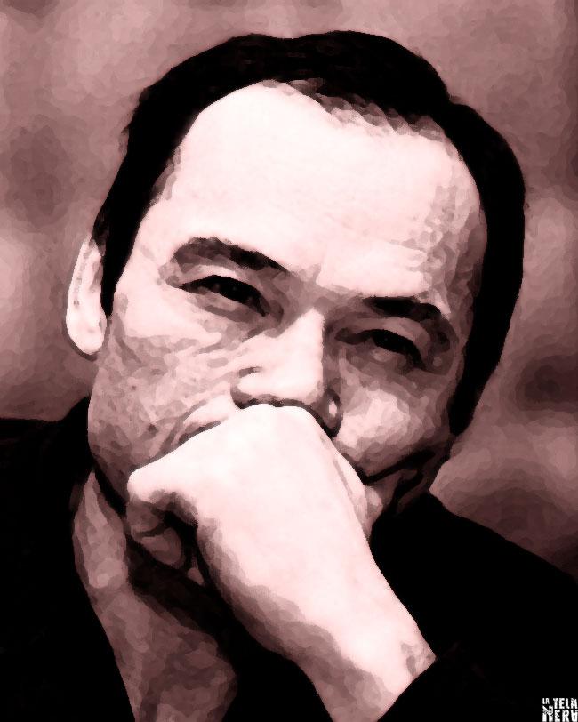 Un'immagine artistica del serial killer kazako Nikolai Dzhumagaliev