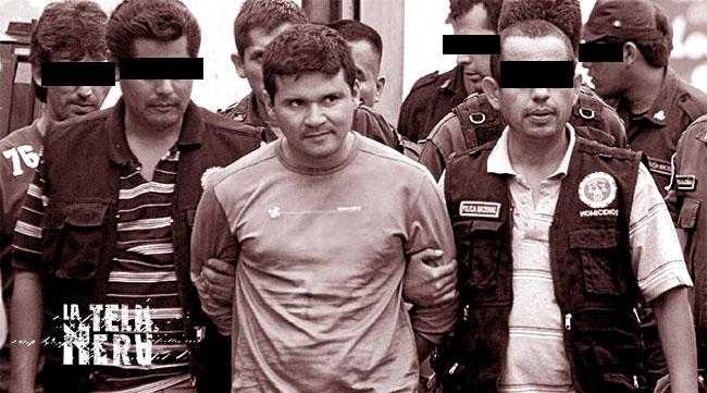 Il serial killer Pedro Nakada in arresto