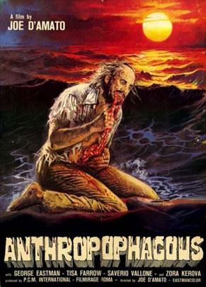 Anthropofagus, un film cannibale di Joe D'Amato