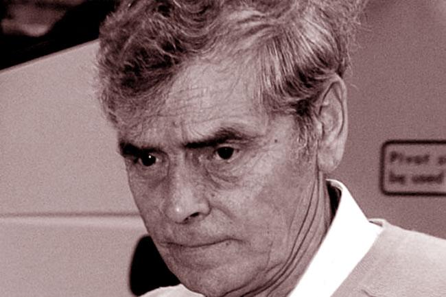 L'assassino Peter Tobin durante un processo
