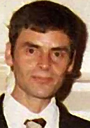L'assassino seriale Peter Tobin in una foto artistica