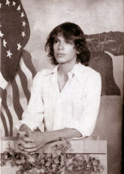 La foto di un giovane Ricardo Muñoz Ramirez