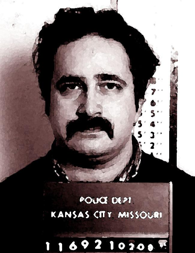 Una foto artisticadel serial killer Robert Berdella, il Macellaio di Kansas City