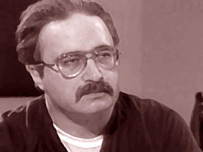Una foto artistica del serial killer Robert Berdella, il Macellaio di Kansas City