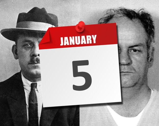 I fatti del 5 gennaio legati ai serial killer