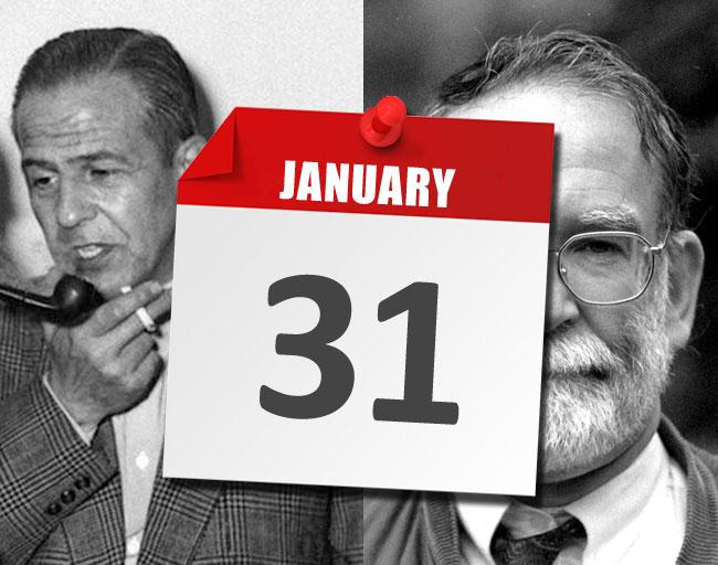 I fatti del 31 gennaio legati ai serial killer