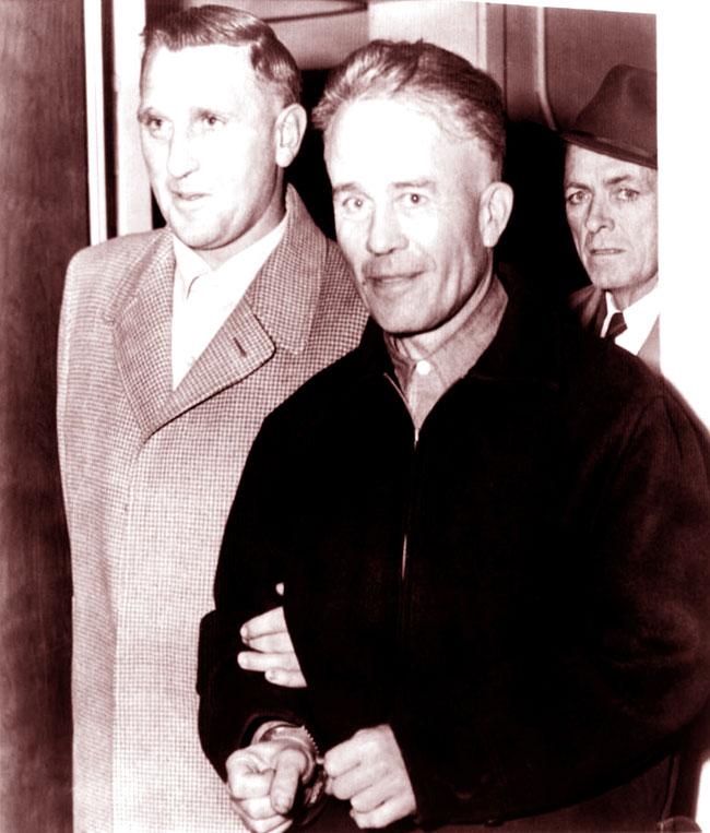 Edward Gein in arresto